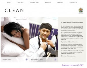 CLEAN website home page