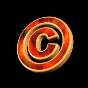 Copyright symbol image