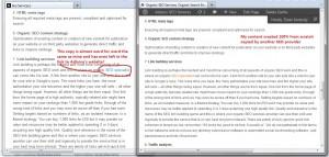 Plagiarism example 1 image