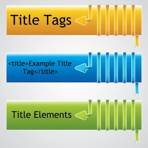 Page title tags