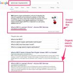 We're in Google's Answer Box – How & Why?
